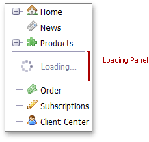 TreeView - Loading Panel