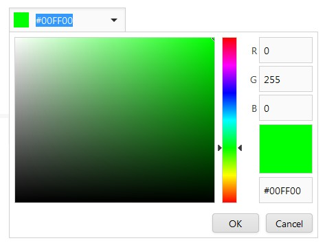 ASPxColorEdit-VisualElements-ColorPicker