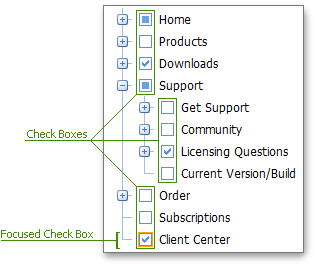 TreeView - VE - Check Boxes