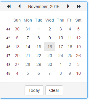 BootstrapCalendar_Overview