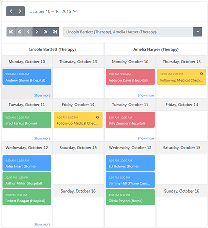 BootstrapScheduler_Views_Week