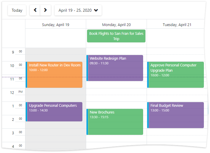 Scheduler Appointment Mappings
