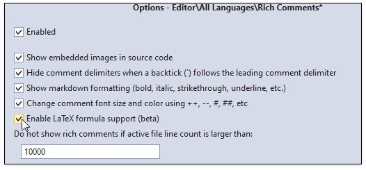 Rich Comments   CodeRush   DevExpress Documentation