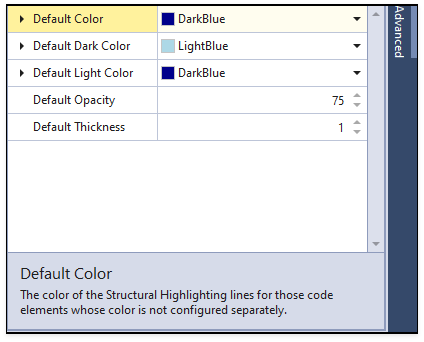 Default Color