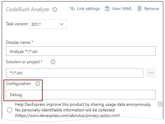 Configure on a Connected Azure DevOps Server using a