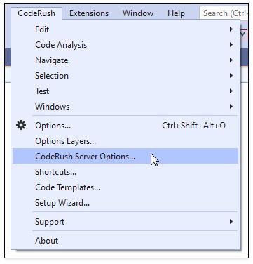 Configure Diagnostics | CodeRush Server | DevExpress Documentation