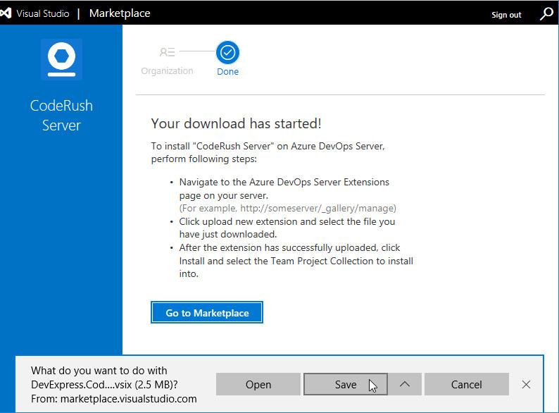 Install on a local Team Foundation Server   CodeRush Server