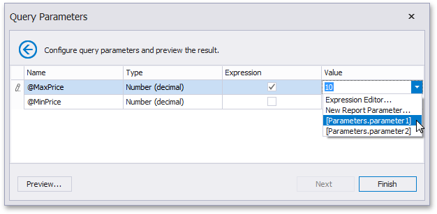how-to-stored-procedure-existing-parameter