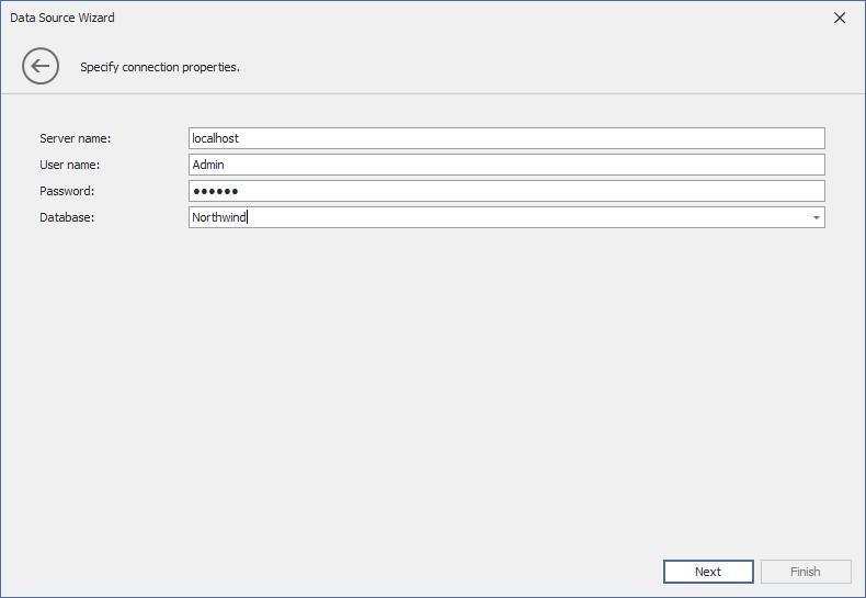 IBM DB2 | Dashboard | DevExpress Documentation