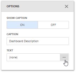 Text Box | Dashboard | DevExpress Documentation