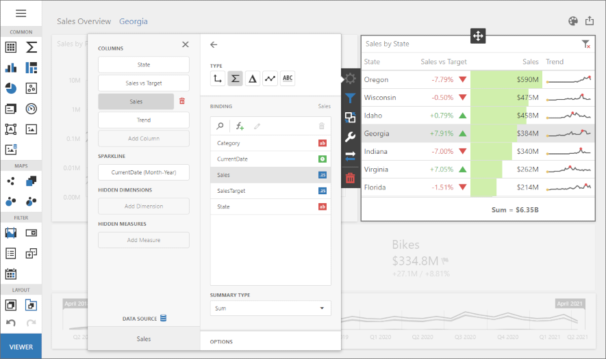 Web Dashboard - Designer Mode