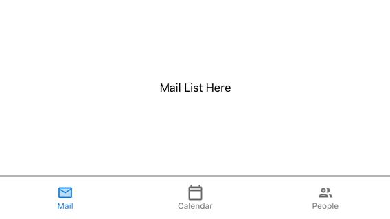 Lesson 1: Create Tab Items Manually | Mobile UI Controls