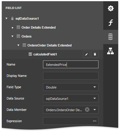 report-server-calc-field-settings
