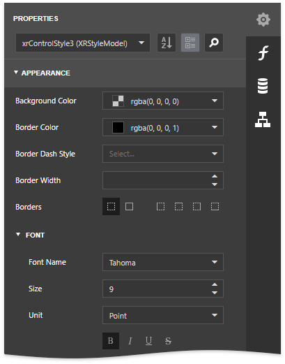 report-server-style-appearance-settings