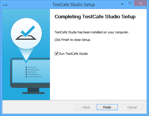 Install TestCafe Studio on Windows