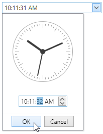 date edit with time picker