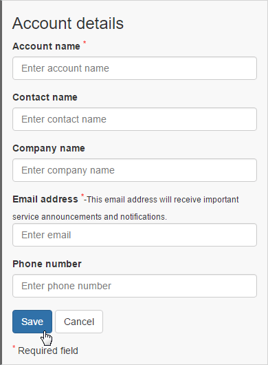 AccountDetails