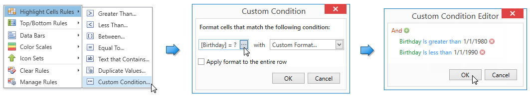 CFCustomConditionMenu