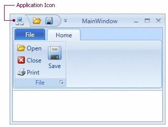 DXRibbonWindow_ApplicationIcon