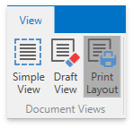 DXRichEdit_Ribbon_DocumentViews