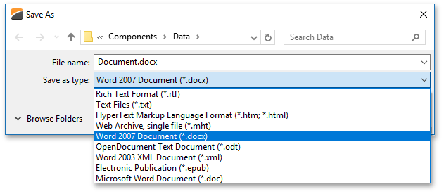 DXRichEdit_supported_formats