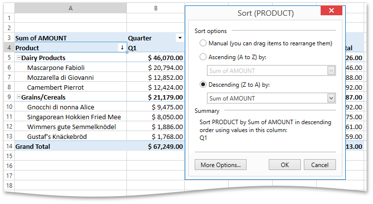 DXSpreadsheet_PivotField_Sorting_SortByDataColumn