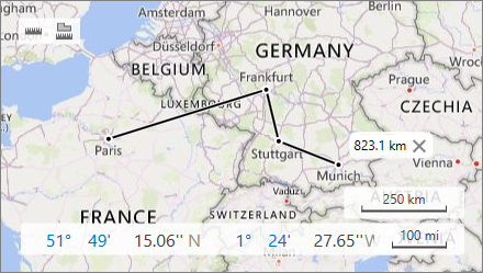 Map Distance Ruler