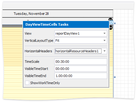 SchedulerReporting - DayViewTimeCells smart tag