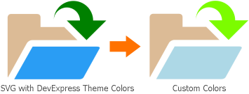 SVG Images - Predefined and Custom Colors