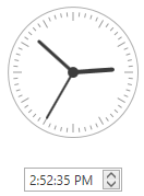 time picker editor