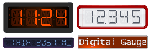 DigitalGaugeSet