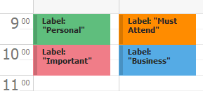 Scheduler - Appointments - Labels