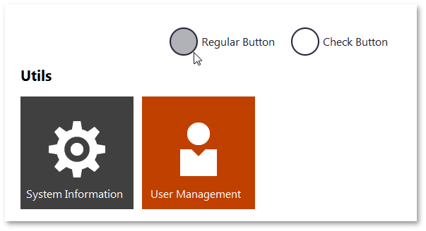 DocumentManager - WindowsUI Buttons