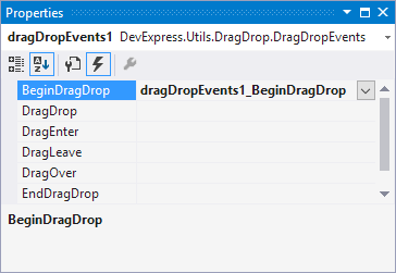 DragndropEvents