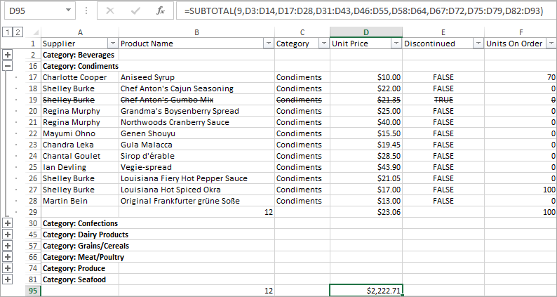 Excel-Export-Group-and-Summary