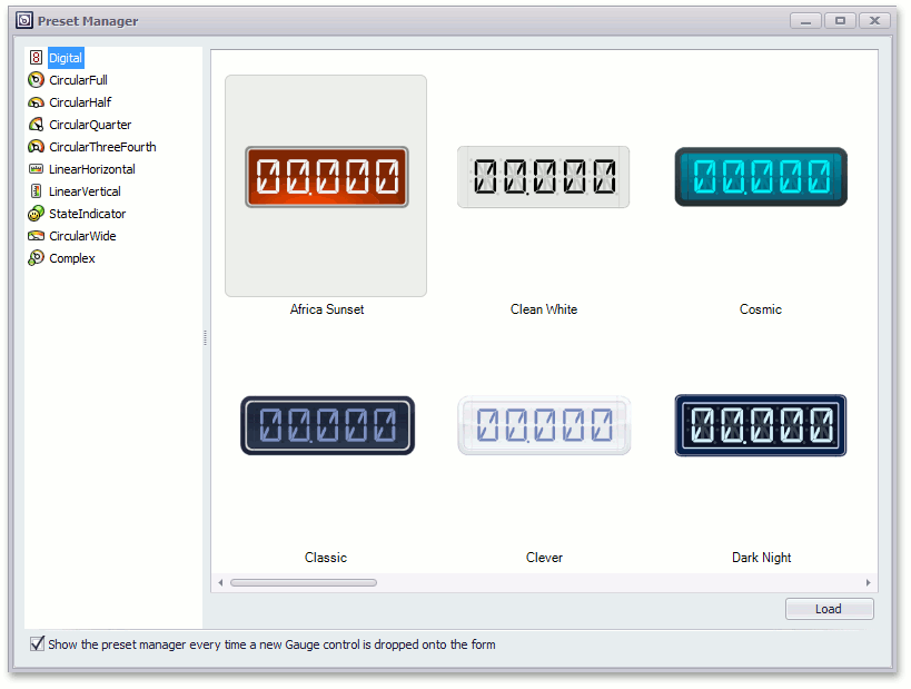 Lesson-Preset Manager