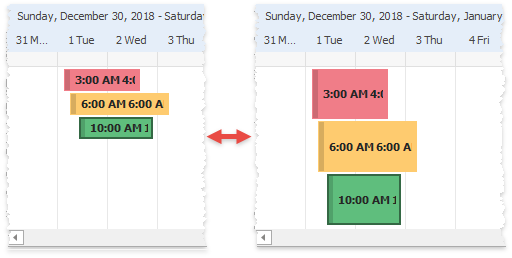 Scheduler - Appointments - Stretch Timeline