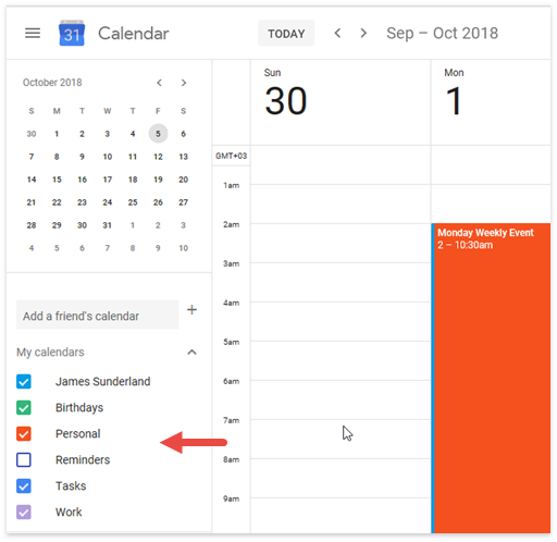 Scheduler - Google Multi Calendars