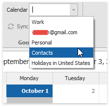 Scheduler - Google Sync - Retrieve calendars