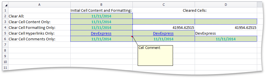 SpreadsheetControl_ClearCells