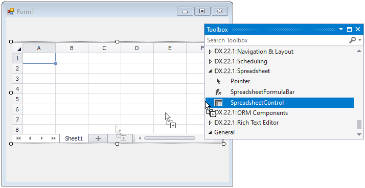 SpreadsheetControl_DropFromToolbox
