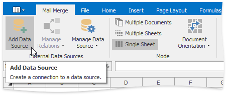 SpreadsheetControl_MailMerge_Add-New-Data-Source
