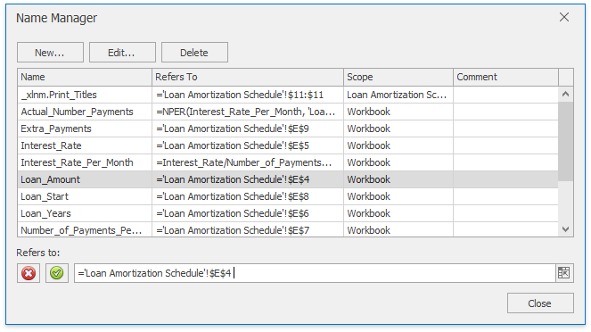 SpreadsheetControl_NameManager
