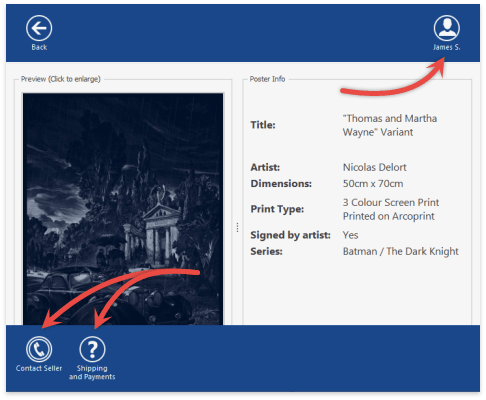 WindowsUIView - Custom Navigation Bar Actions (Batman)