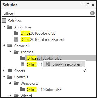 Edit a Theme in XAML | WPF Theme Designer | DevExpress Documentation