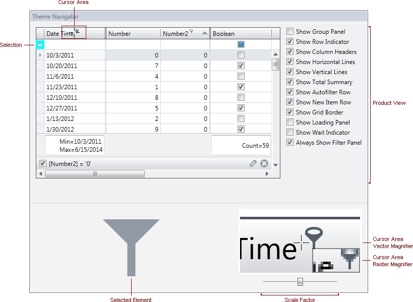 Theme Navigator   WPF Theme Editor   DevExpress Documentation