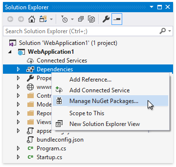 context-menu-manage-nuget-packages
