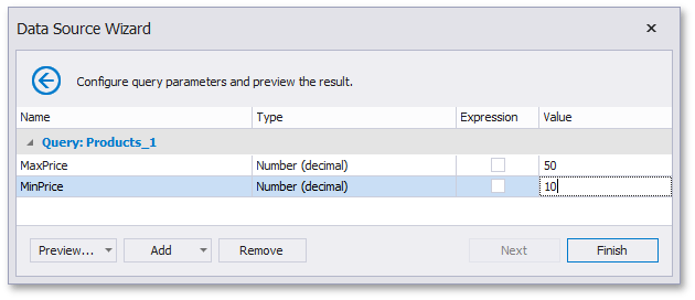 data-source-wizard-configure-parameters-static-values