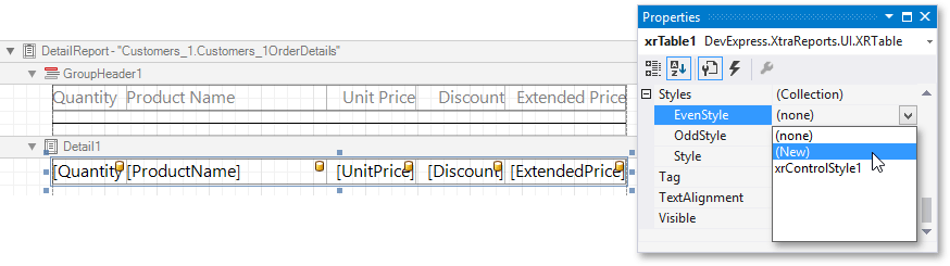 invoice-report-table-even-style