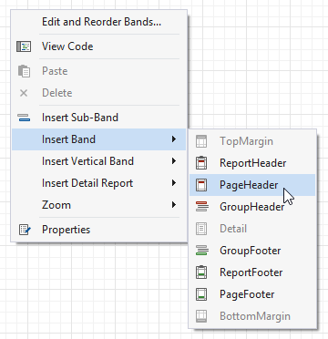 report-bands-context-menu